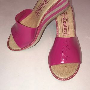 Juicy Couture Wedges Size 8